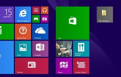 Fixar pastas na Tela Inicial do Windows 8.1