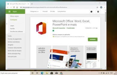 O aplicativo unificado do Microsoft Office para Android