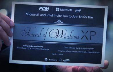 Bizarro: Empresa promove o Funeral do Windows XP 1