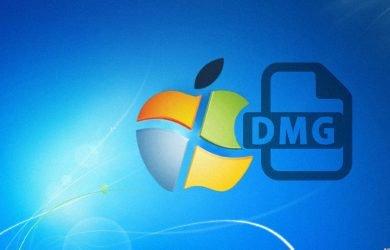 Abrir arquivos dmg no Windows