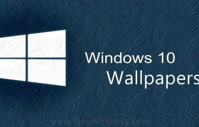 Papéis de parede do Windows 10