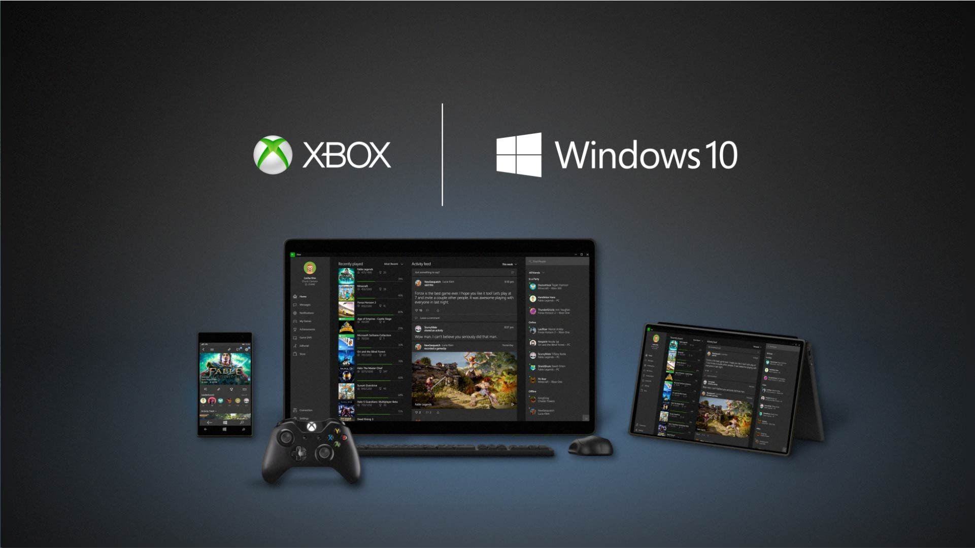 Microsoft windows 10 windows 10 fall creators update windows insider - Microsoft Mostra Integra 231 227 O Do Xbox No Windows 10 V 237 Deo