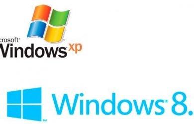 Windows XP vs Windows 8.1
