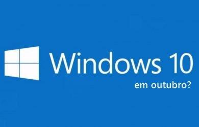 windows 10 lançamento
