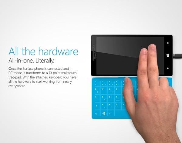 Confira o conceito do 'Surface Phone' com Windows 10 1