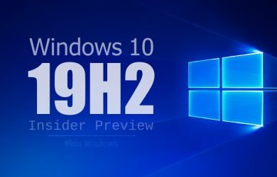 Windows 10 Insider Preview Build (19H2)