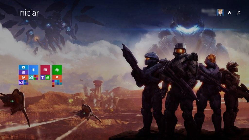 Tema Halo 5: Guardians | Theme for Windows 10