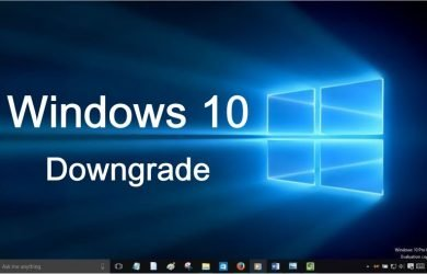 windows 10 downgrade