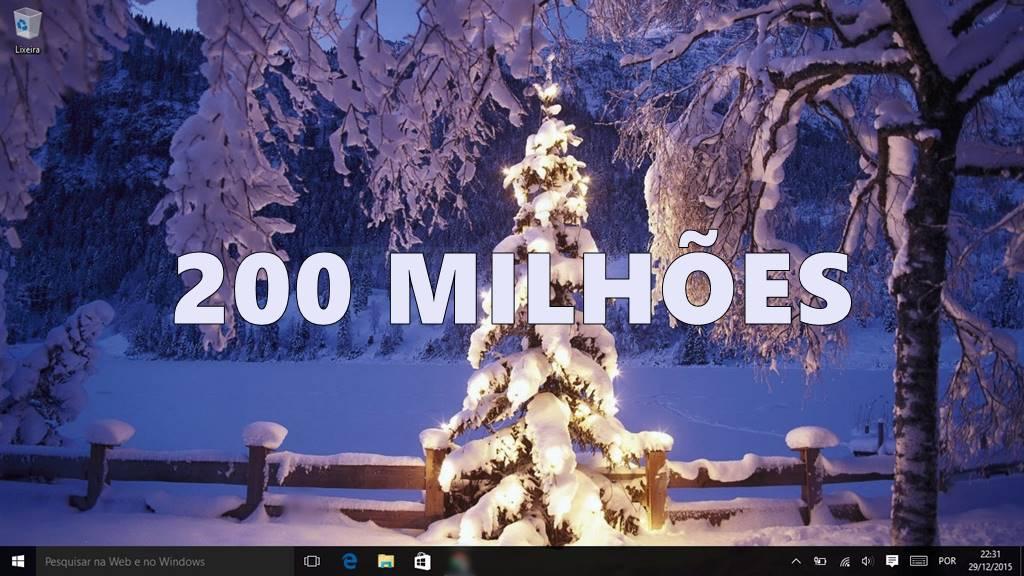 200 million windows-10