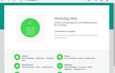 Edge WhatsApp Web