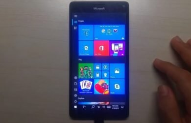 Windows 10 no Lumia 950 XL