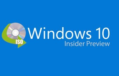 ISO do Windows 10 Insider Preview