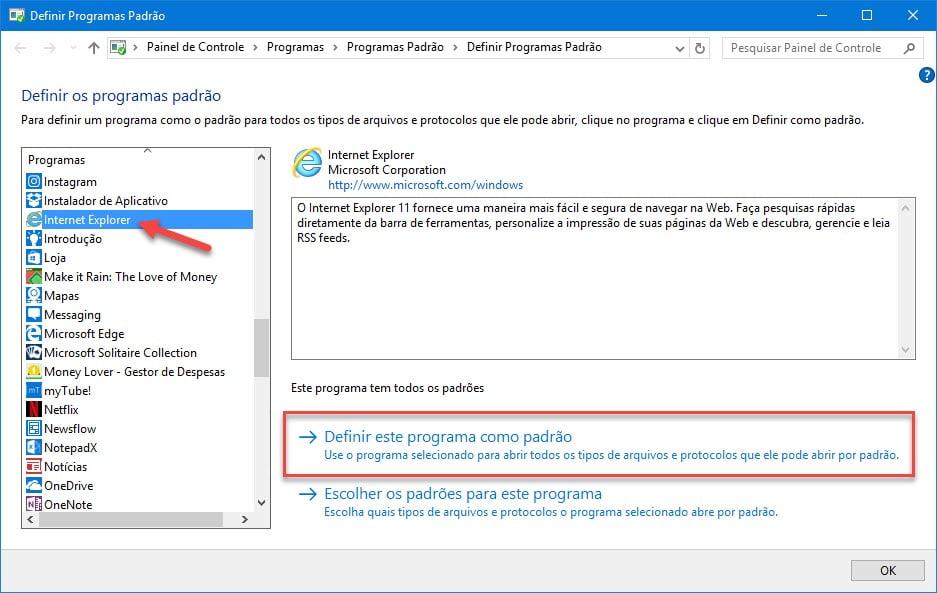 Como abrir o Internet Explorer no Windows 10 - Meu Windows