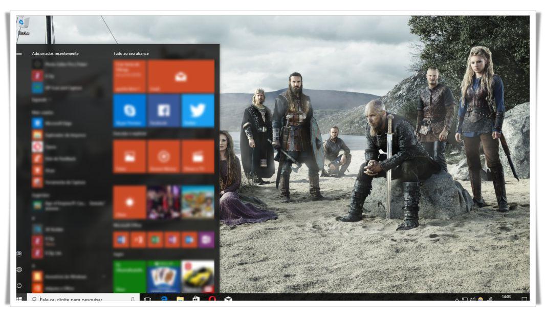 Tema Vikings para Windows 10