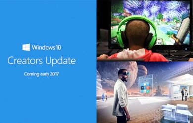 Atualização para Criadores do Windows 10