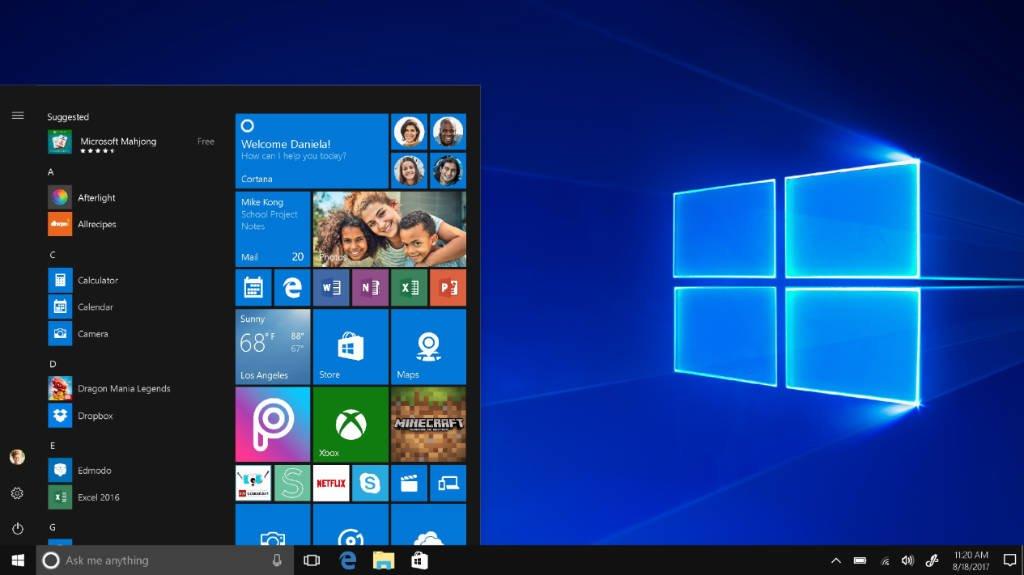 Sobre o Windows 10 S
