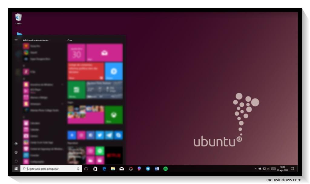 Tema Ubuntu