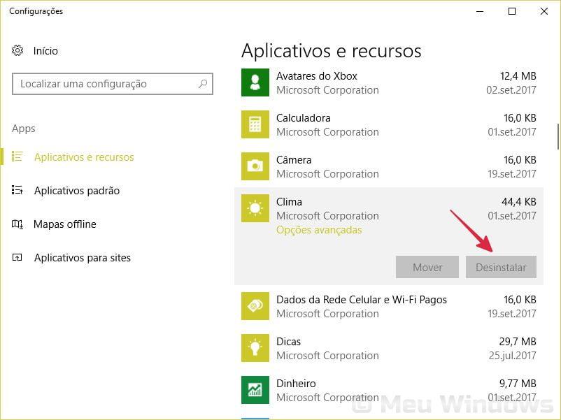Impedir a desinstalação de aplicativos
