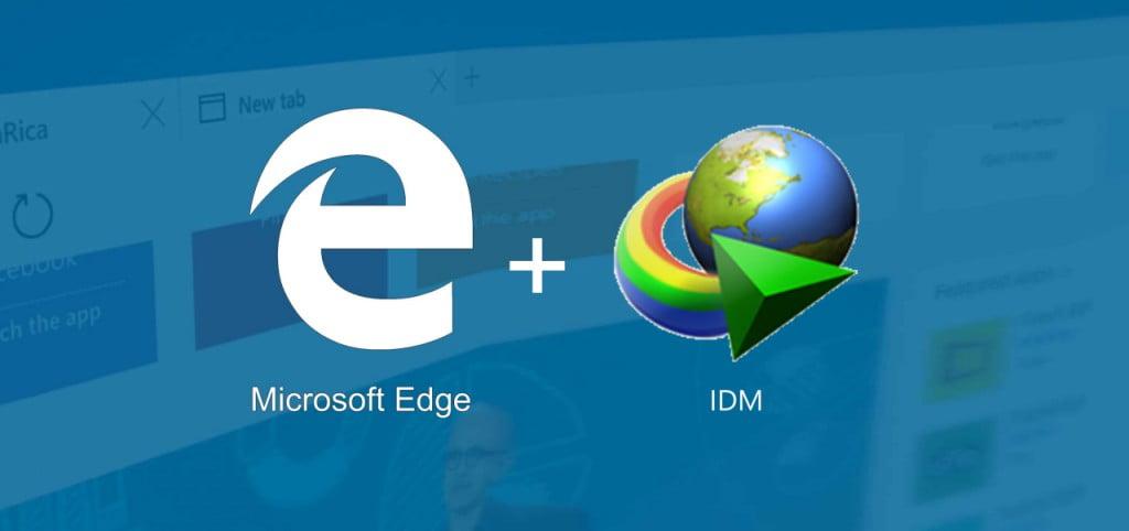 Extensão IDM no Microsoft Edge