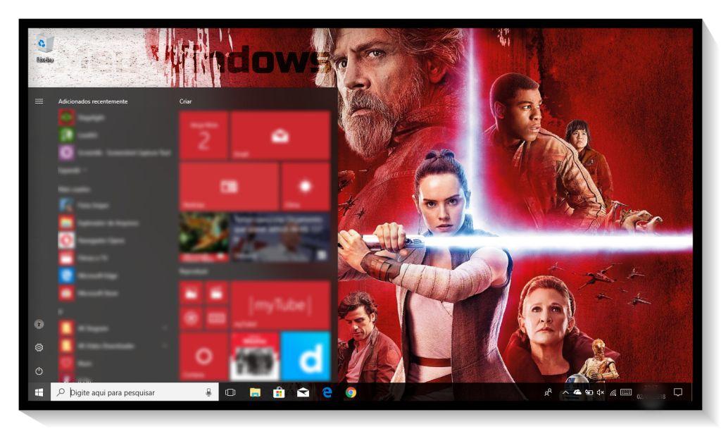Tema Star Wars: Os Últimos Jedi