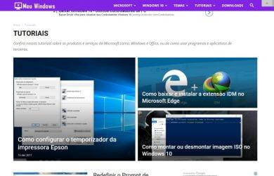 Tela cheia no Microsoft Edge