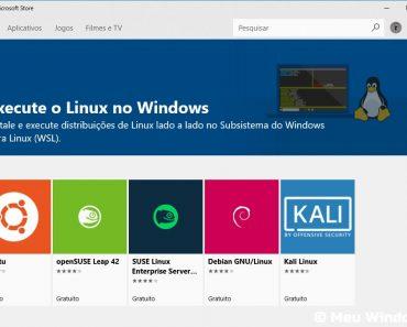 Microsoft permite mais distribuições do Linux no Windows 10