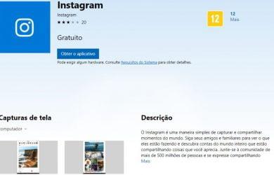Instagram para Windows 10 Mobile