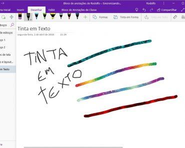 5 dicas para dominar o Windows Ink no OneNote