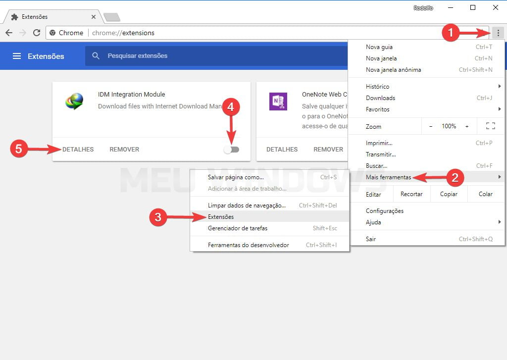 Como ativar e instalar a extenso idm no google chrome meu windows extenso idm no google chrome ccuart Image collections