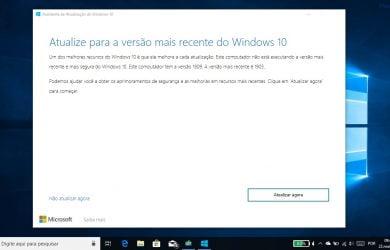 Obter a Atualização do Windows 10 de maio de 2019