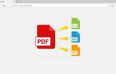 Melhores sites para converter PDF