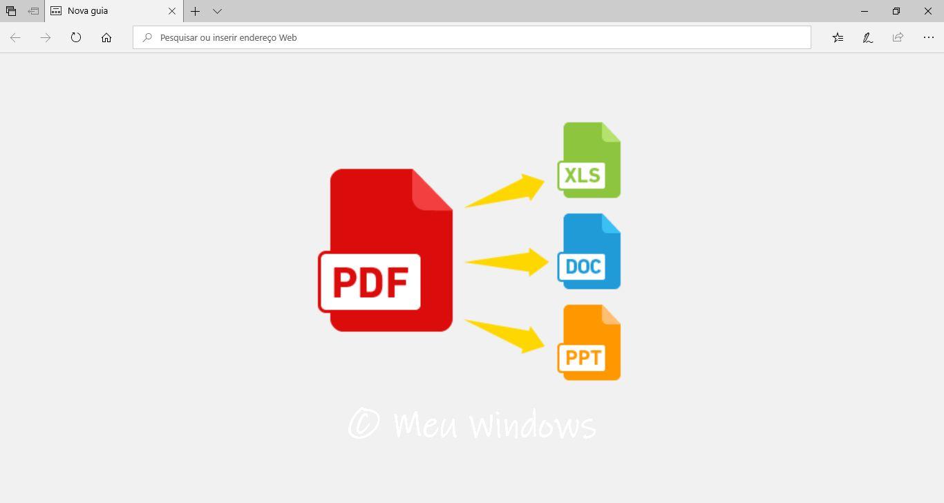 melhor conversor de pdf para word gratis