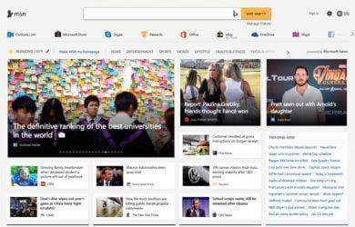MSN Notícias agora é Microsoft Notícias