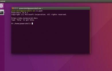 PowerShell Core para o Linux como Snap