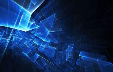 Tema Azul Abstrato