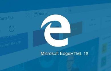 O que há de novo no EdgeHTML 18 para desenvolvedores