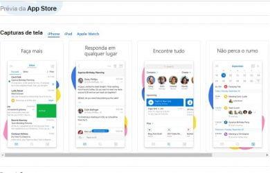 Outlook para iOS adiciona suporte para iPhone XS, XS Max e XR