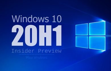 Windows 10 Insider Preview 20H1