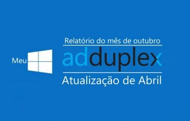 AdDuplex: 1803 continua sendo a versão mais usada do Windows 10 1