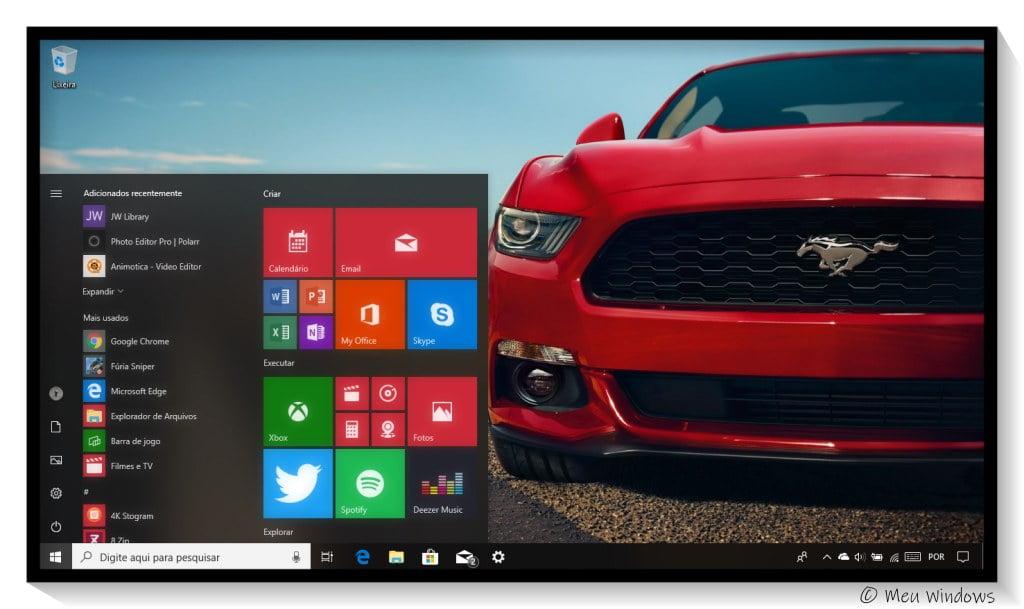 Tema Ford Mustang para Windows 10