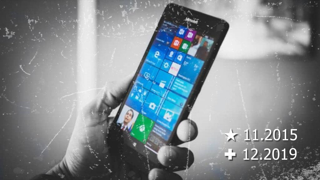Microsoft confirma a morte do Windows 10 Mobile
