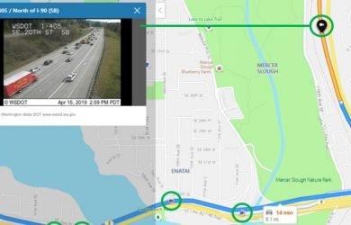 Câmeras de trafego no Bing Mapas