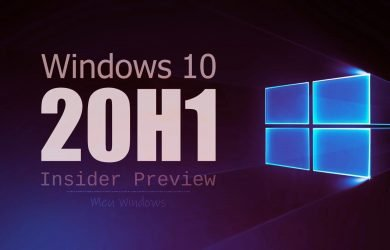 Windows 10 Insider Preview: Build 18995 disponível no anel Rápido 1
