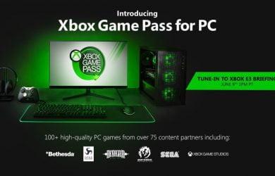 Microsoft anuncia Xbox Game Pass para o Windows 10
