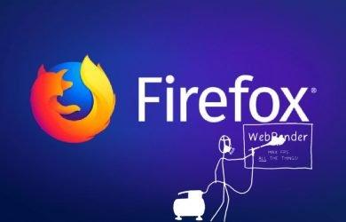 Mozilla leva tecnologia WebRender ao Firefox 67