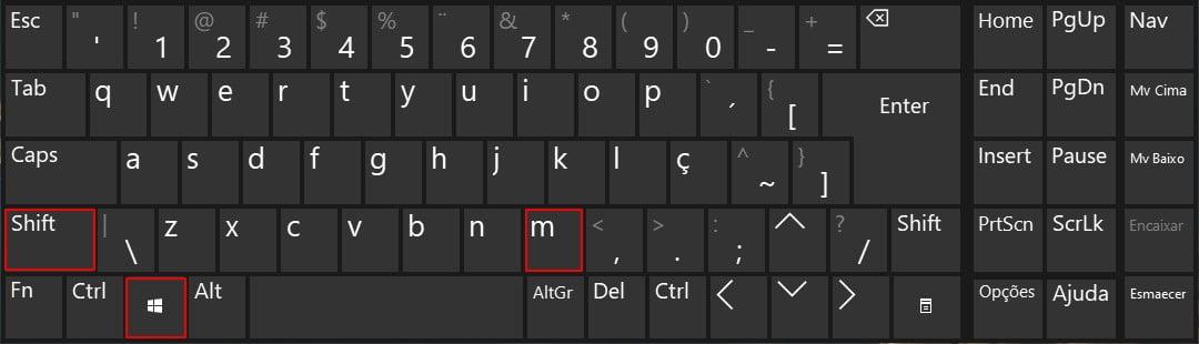 Pressione a tecla de logotipo do Windows + Shift + M para restaurar todas as janelas minimizadas.