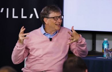 Bill Gates no Village Global
