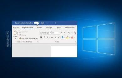 Como desativar o AutoRecuperação no Office 365