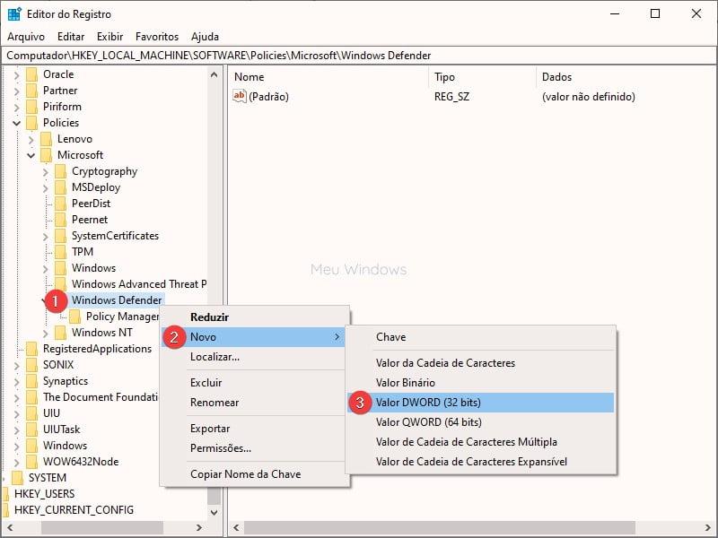 Como desativar o Windows Defender no Windows 10 5
