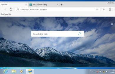 Microsoft Edge no Windows 7